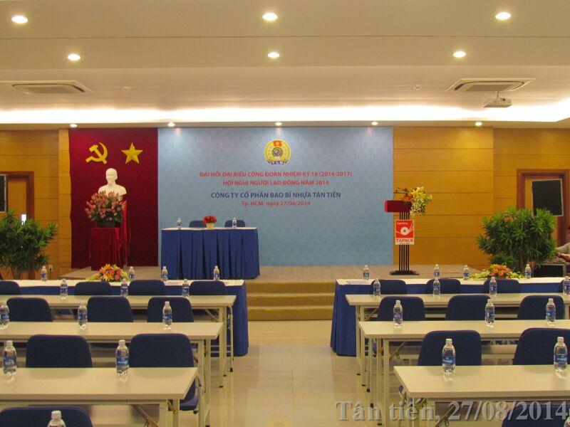 Đại hội Đại biểu Công Đoàn, nhiệm kỳ 18 (2014 – 2017); Hội nghị người Lao Động 2014.